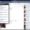 Facebook heeft nu ook Retina iPad app