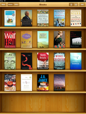how to get books from ibooks to ipad