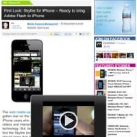Skyfire Flash app weer beschikbaar