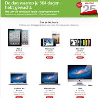 Black Friday in de Apple Store is begonnen – iPad fors afgeprijsd