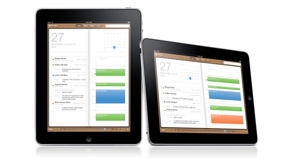 Koersdoel Apple omhoog door iPad