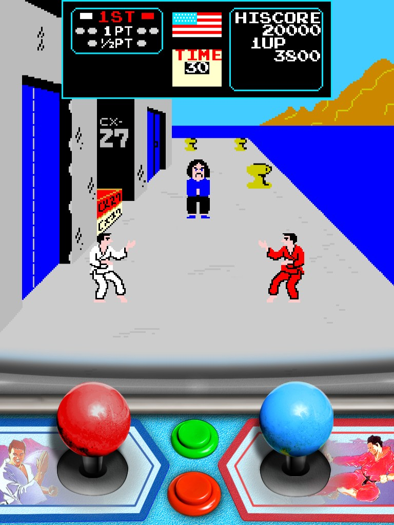 Preview: Karate Champ XL voor iPad