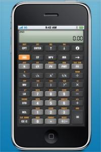 'Old skool' zakelijke rekenmachine nu als iPad app