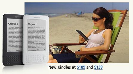 Nieuwe Kindles: bewust geen kleur en touchscreen!