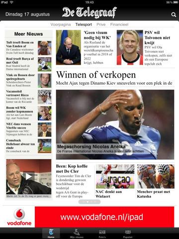 Update: De Telegraaf HD