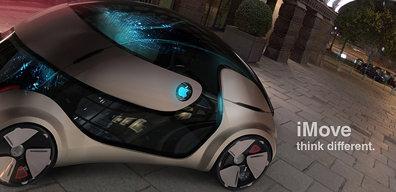 iMove: Auto geïnspireerd op iPad