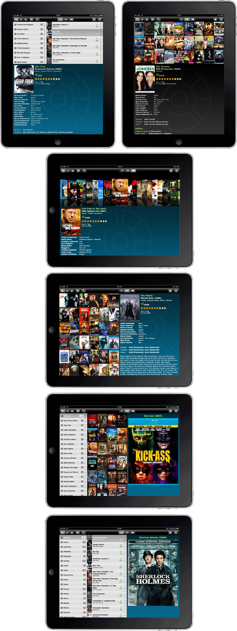 Preview: Collectorz iPad app