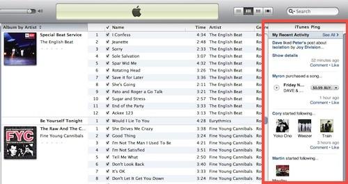 Update: iTunes naar 10.0.1