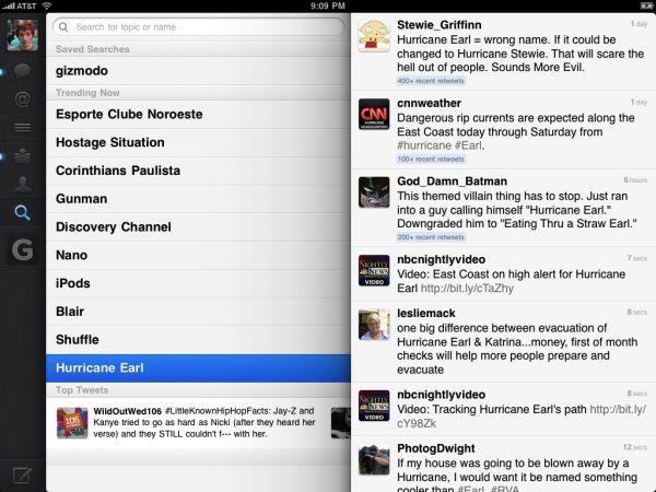 Nieuw: Officiële Twitter iPad App