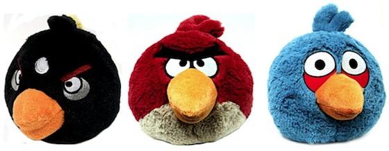 Binnenkort: Angry Birds knuffelbeesten