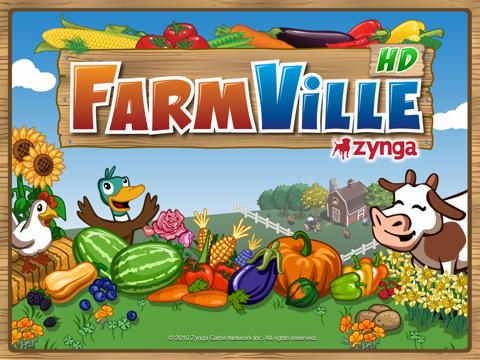 Populaire Facebook game Farmville HD naar iPad