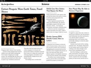 New York Times komt met Ebooks Bestellerlijst