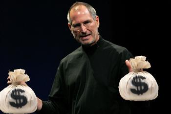 Koers aandeel Apple boven 300 dollar!