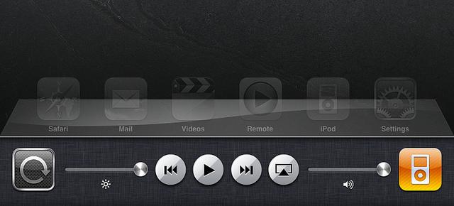 Nieuw in iOS 4.2 GM: Multitasking Bar voor iPad