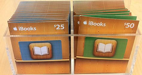 iBooks Gift Cards duiken op.