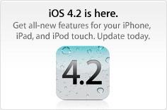 Breaking: iOS 4.2 is nu beschikbaar! [UPDATE]