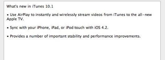 Breaking: iTunes 10.1 is uit! Volgt iOS 4.2 dan toch nog?