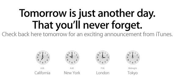 Breaking: Apple kondigt iTunes verrassing aan voor morgen