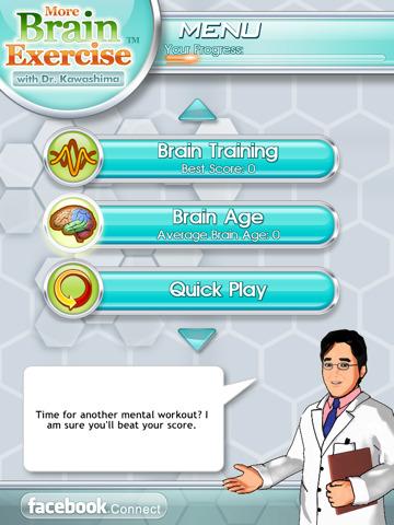 Nintendo's Dr. Kawashima naar iPad: 50% korting!