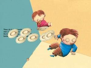 Interactieve Kinderapp Timo en het Toverboek voor iPad