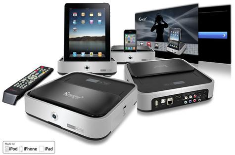 Xtreamer komt met iPad dock