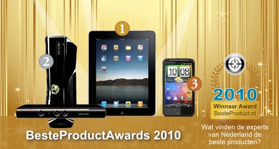 Vakpers kiest iPad als beste product van 2010
