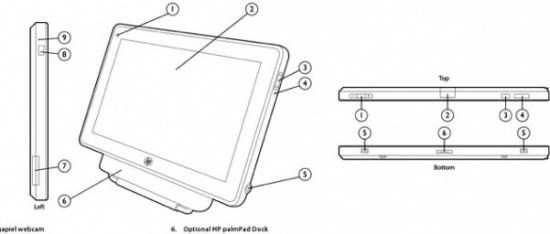 Gaat de HP Palmpad de iPad verslaan?