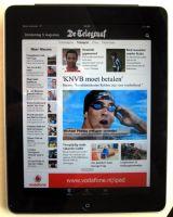 Telegraaf apps scoren hoog in iPad top 2010