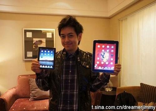 Taiwanese popster claimt iPad mini in bezit te hebben