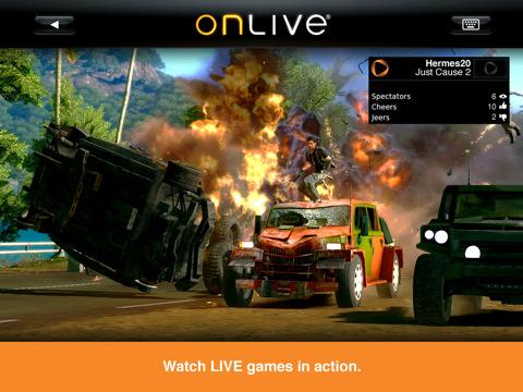 Onlive Viewer brengt game spektakel naar iPad