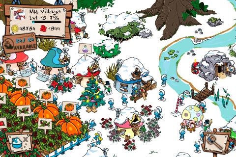 Update: Smurf's Village voegt GameCenter toe