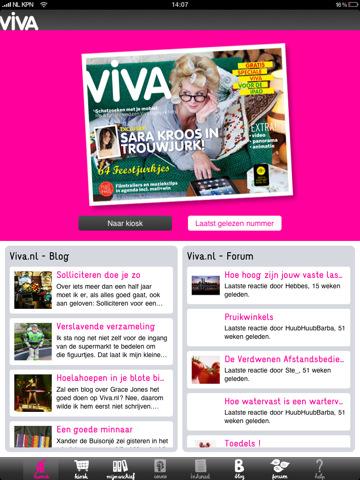 Vrouwen opgelet: Viva HD voor iPad