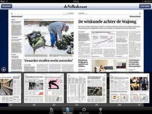 Update: Volkskrant voor iPad