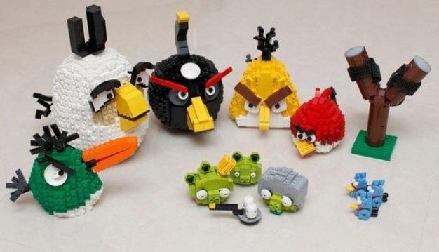 Angry Birds van Lego