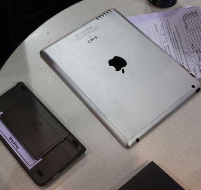 iPad 2 Mockups blijven verschijnen op de CES