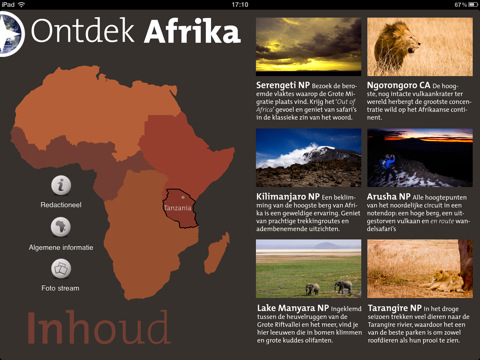 Digitaal magazine: Ontdek Afrika