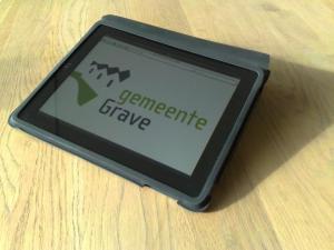 Ook gemeente Grave gaat iPad gebruiken