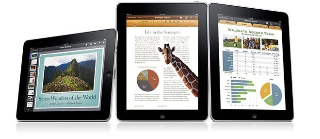 Apple Kantoor Apps voor iPad krijgen update