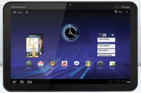 Motorola Xoom dé iPad concurrent?