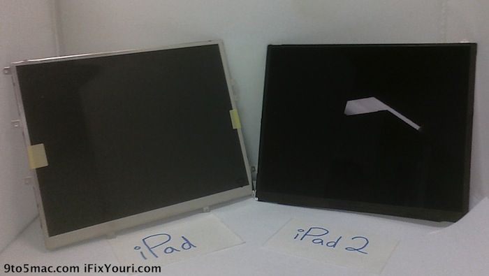 Rumor: Is dit het nieuwe iPad 2 scherm?