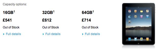 De iPad 2 komt er aan: iPad 1 op veel plaatsen uitverkocht