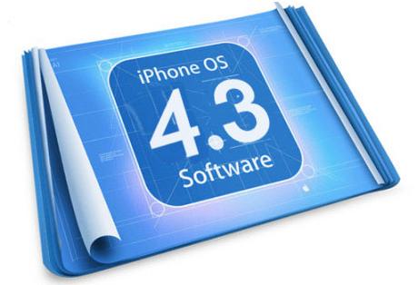iOS 4.3.1 binnen 2 weken verwacht