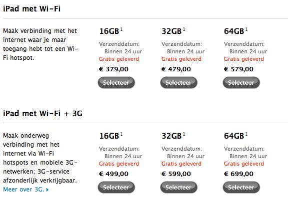 iPad 1 fors in prijs verlaagd
