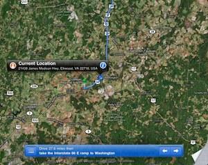 Opmerkelijk: iPad Wifi krijgt GPS signaal via iPhone 4