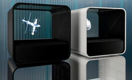 Belgische Holocube wordt bediend met iPad