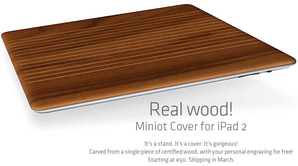 Alternatief voor Apple's Smart Cover: Miniot Cover