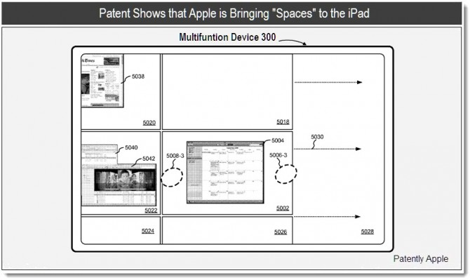 Apple patenteert Spaces for iPad [iOS 5]