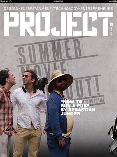 Project Magazine komt met Gyro Cover voor iPad 2