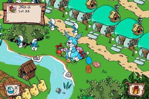 Smurfs Village krijgt bezoek van de Paashaas