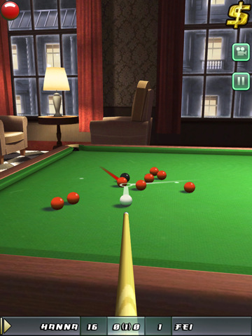 Snooker Club for iPad tijdelijk Gratis